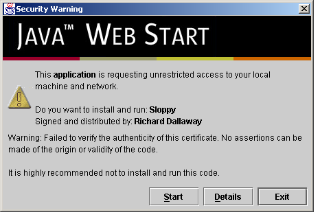 Java Web Start and Code Signing